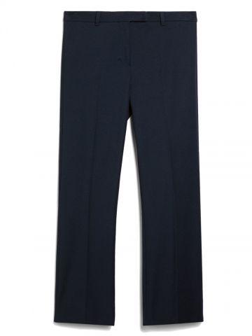 Midnight blue tech cotton Umanita trousers