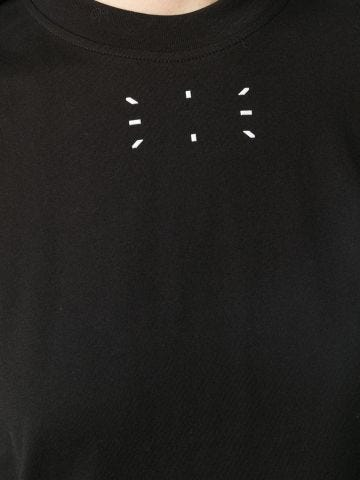 Black jersey T-shirt
