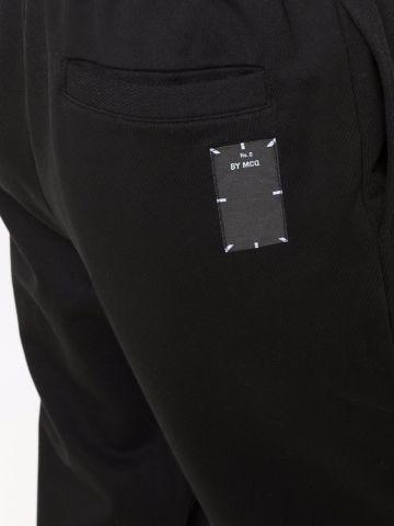 Black sports trousers