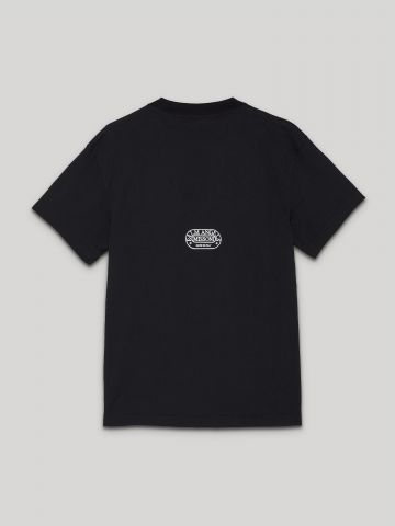 T-shirt Sport nera Palm Angels x Missoni