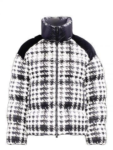 Black and white Erine down jacket