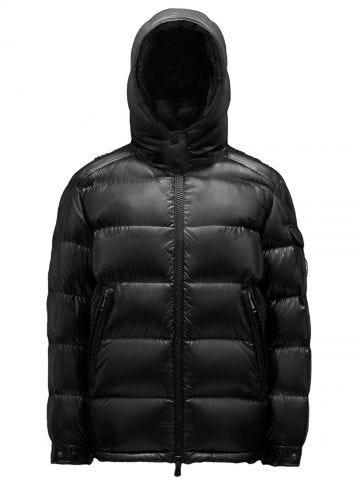 Short black Maire down jacket