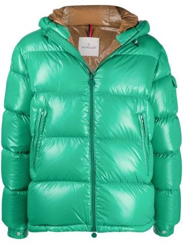Green Ecrins down jacket
