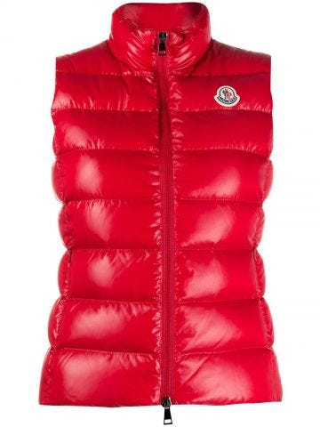 Red Ghany gilet