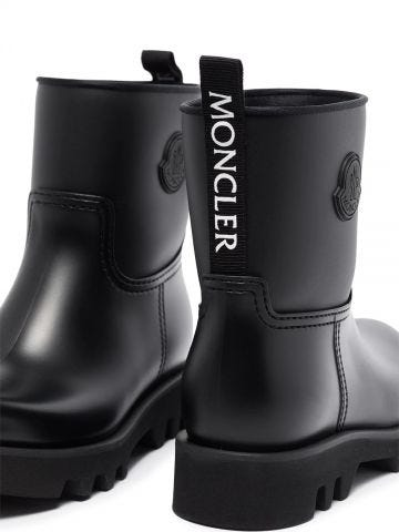 Black Ginette rain boots