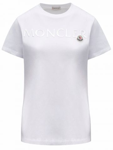 White T-shirt with 3D graphic