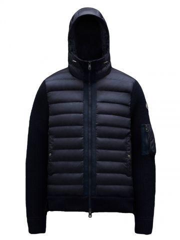 Blue cardigan jacket
