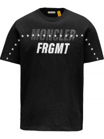 7 Moncler Fragment Hiroshi Fujiwara black t-shirt
