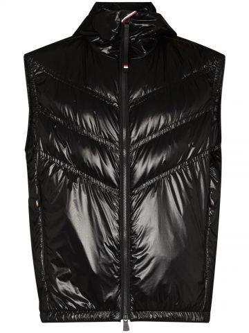 Salantin black padded vest