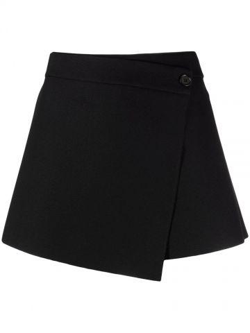 Black shorts wallet design