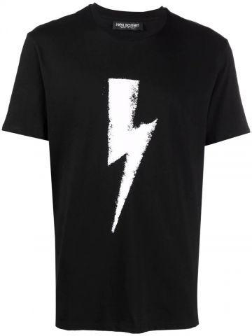 Black Thunderbolt T-shirt