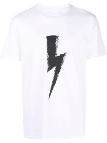 White Thunderbolt T-shirt