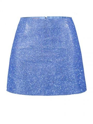 Sky blue Camille skirt