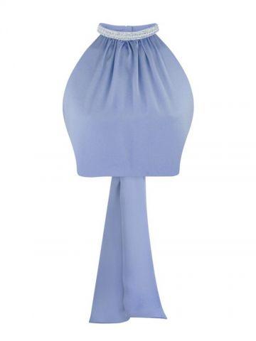 Blue Kaia top