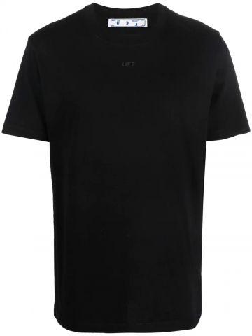 Balck print T-shirt