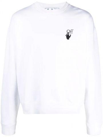White Arrows sweatshirt