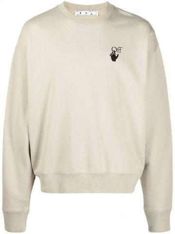 Grey Arrows sweatshirt