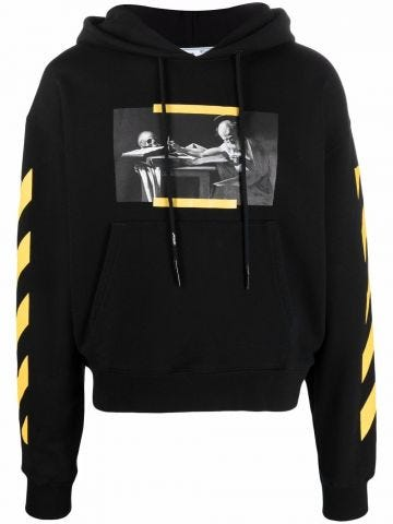 Black Caravaggio sweatshirt