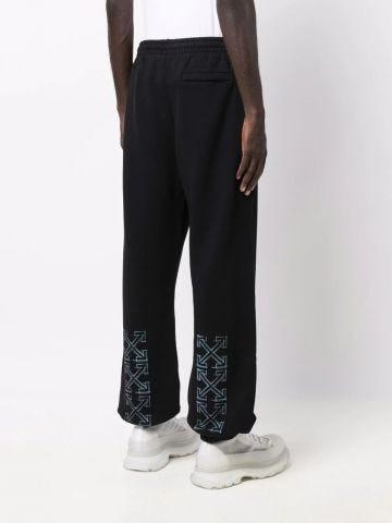 Black slim Marker sweatpants