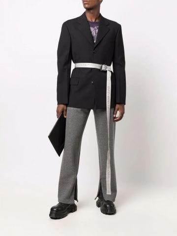 Lounge trackpants in grey