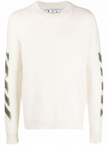 Beige Arrows sweater