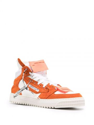 Orange and white Off-Court 3.0 Sneakers