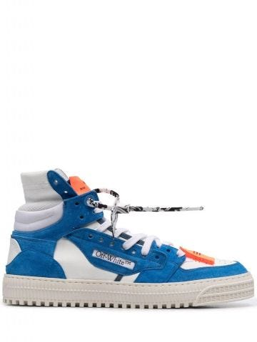Blue suede Off-Court 3.0 sneakers