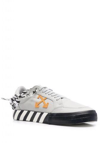 Gray Arrows Vulcanized low-top sneakers