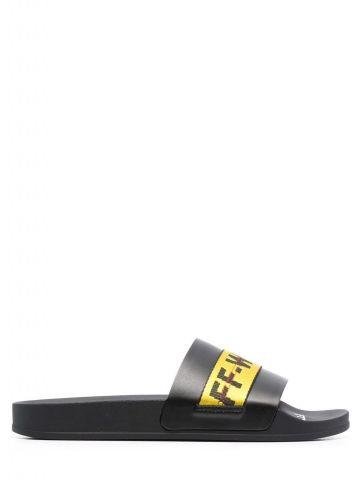 Black Logo-tape Industrial Slides