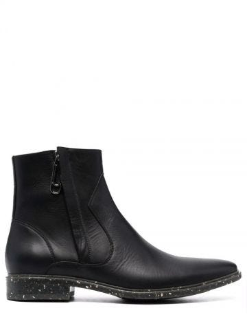 Black Paperclip ankle boots