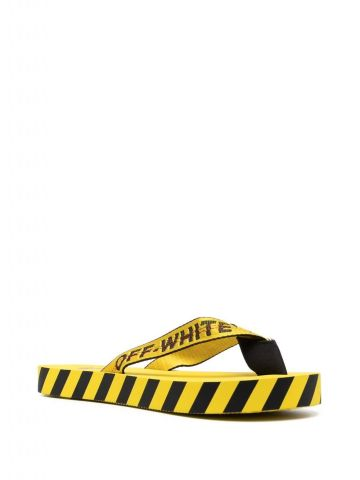 Industrial yellow slipper