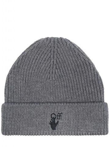 Gray cap with logo