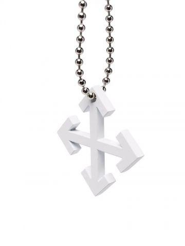 White Arrows keychain