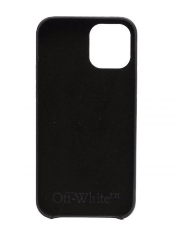 Black Allover Logo Iphone 12/12 Pro Case