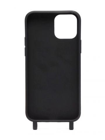 Black Industrial belt Iphone 12 case