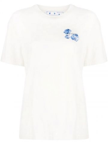 White Arrows t-shirt with flowers