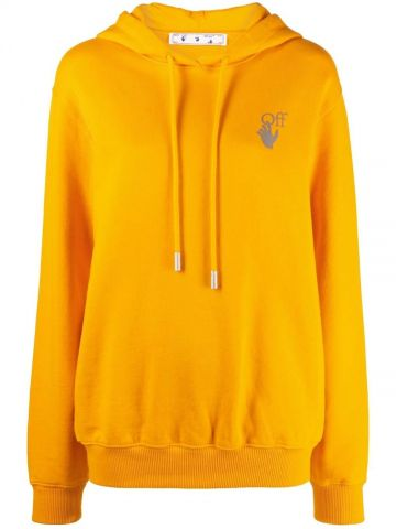 Orange Chine Arrows hoodie