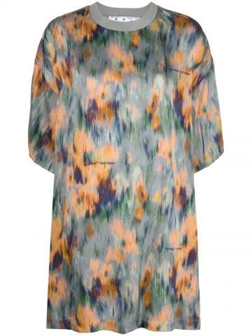 Multicolour Romantic T-shirt dress