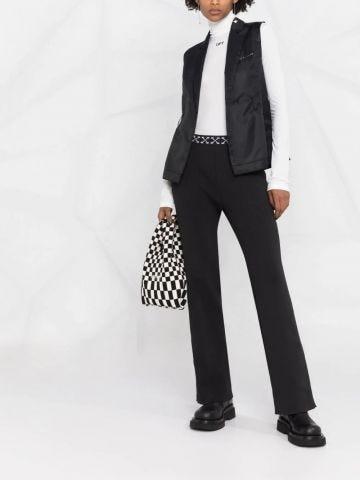 Black bold pants