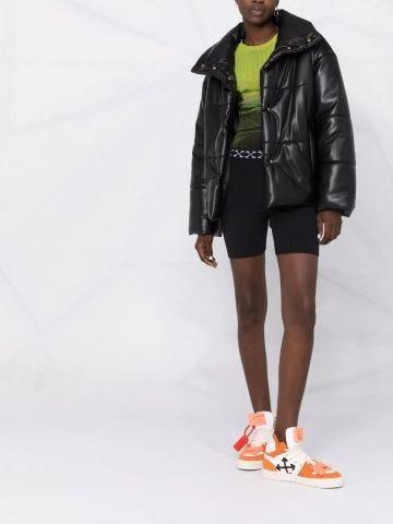 Black Arrows patterned shorts