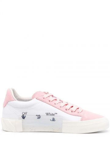 White low vulcanized sneakers