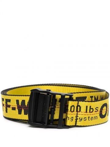 Yellow Industrial belt