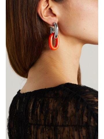 Paco Rabanne x Kimura Tsunehisa XL Link earrings