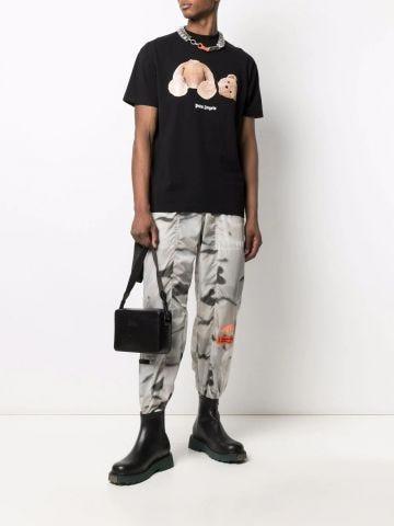 Black Bear print T-shirt