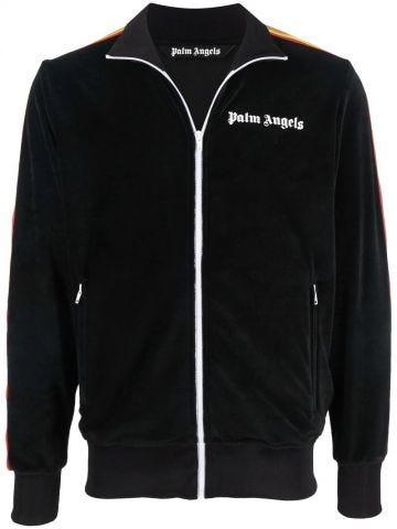 Black rainbow sport jacket
