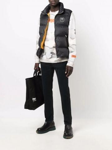 Black Palm Tree vest