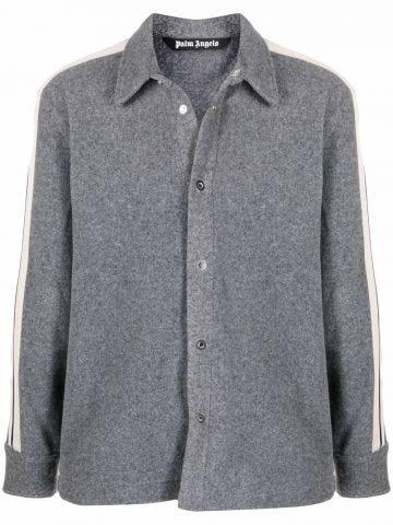 Grey track shirt