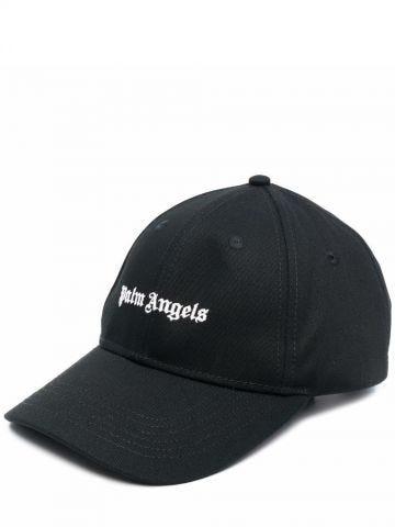 Black logo baseball cap