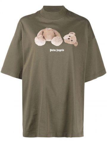 Green Teddy Bear T-shirt