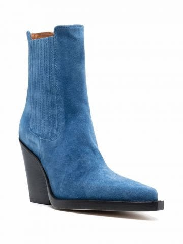 Blue Dallas boots